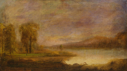 Landscape with a Lake (1864)