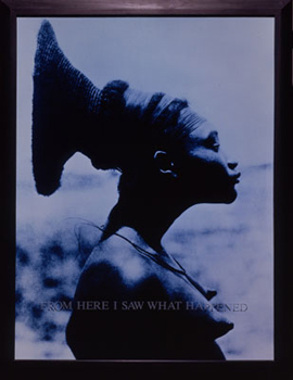 CARRIE MAE WEEMS: FROM HERE I SAW WHAT HAPPENED