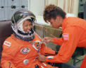 Mae Jemison, first African American female astronaut