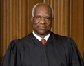 Associate Justice of the United States Suprement Court Clarence Thomas. Courtesy of the Supreme Court Historical Society