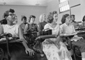 Anacostia High School, Washington D.C., 1957, Courtesy of Library of Congress