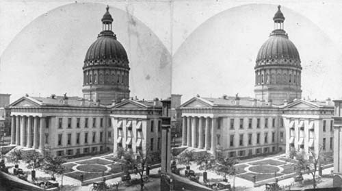 Court House, St Louis, Missouri, 1870s
