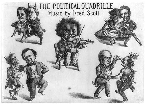 The Political Quadrille, Music by Dred Scott, 1860.