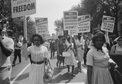 Civil Rights Demonstrators, Washington, 1963. Courtesy of the National Archives.